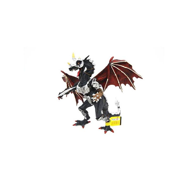 Figura dragón con Armadura (Plastoy)