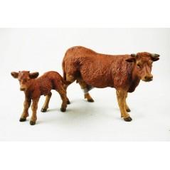 Figuras Vacas lemosina