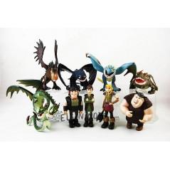 Colección figuras Cómo entrenar a tú dragón