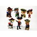 Colección figuras Patrulla Canina Pirata