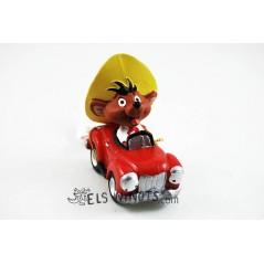Figura Speedy Gonzalez con coche