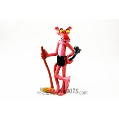 Figura Pantera Rosa amb plomall