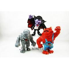 Figuras Monstruos colección Maia Borges