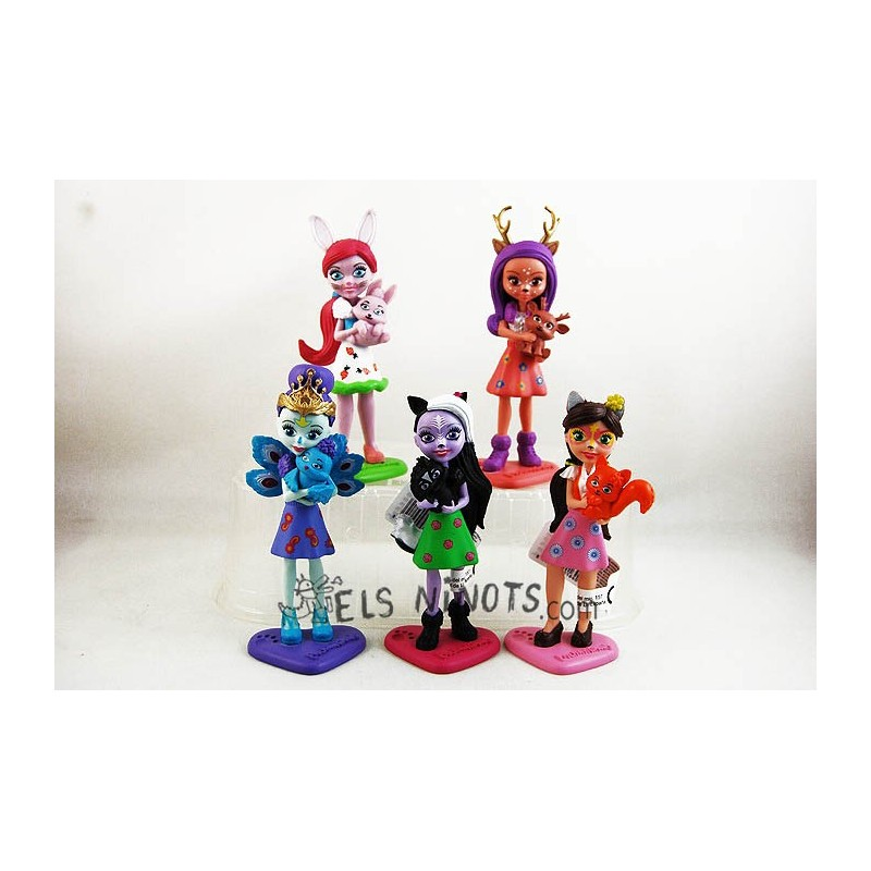Colección figuras Enchantimals