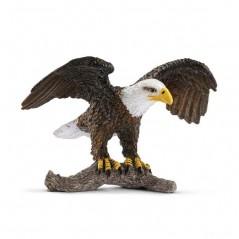Figura Águila calva con polluelos Schleich