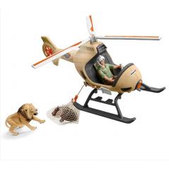 Helicóptero Salvamento de Animales