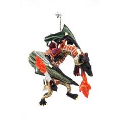 Figura dragón Guerrero con espada (Papo)