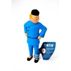 Figura Tintín Loto Azul