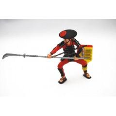 Figura Samurai con lanza (Plastoy)