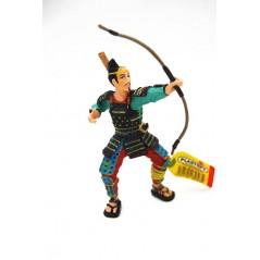 Figura Samurai arquero (Plastoy)