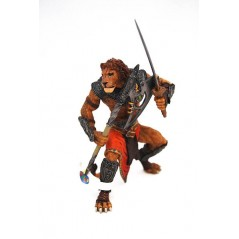 Figura Hombre León mutante (Papo)