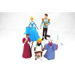 Coleccion figuras Disney la Cenicienta