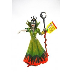 Figura Bruja vestido verde (Plastoy)