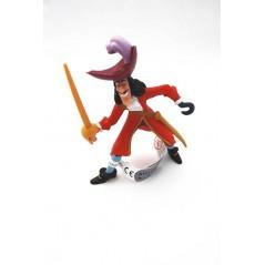 Figura Capitán Garfio de Peter Pan