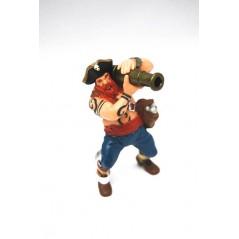 Figura Pirata con cañon (Papo)