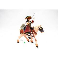 Figura Capitán Corsario con caballo (Papo)