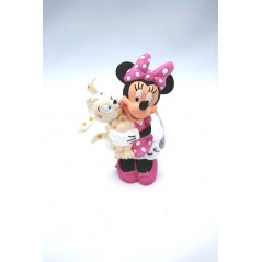 Figura Minnie con perrito
