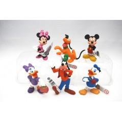 Colección figuras Mickey Mouse y Pato Donald