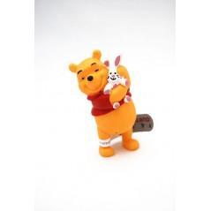 Figura Winnie the Pooh con conejo