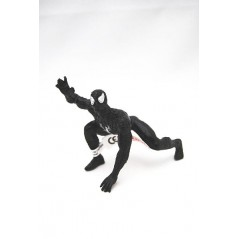 Figura Spiderman negro agachado