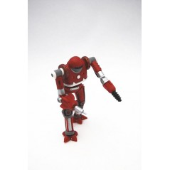 Figura Robot guerrero rojo