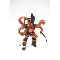 Figura Pirata mutante pulpo (Papo)