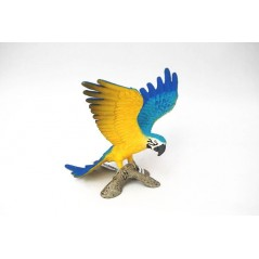 Figura Guacamai blau i groc Schleich