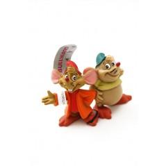 Figuras Ratones Cenicienta Gus y Jaq