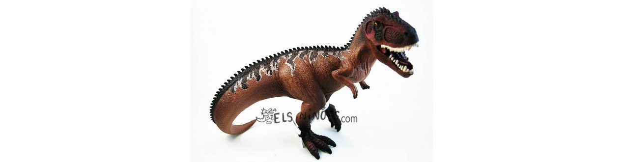figuras dinosaurios Schleich y Papo