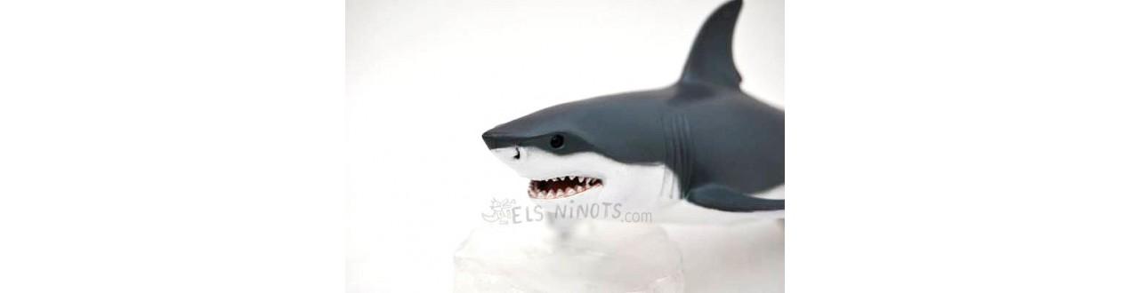 Figurines d'animaux marins Papo