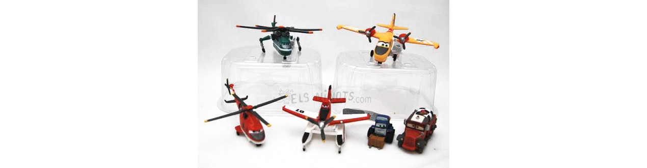 Figuras Aviones 2 Equipo de Rescate