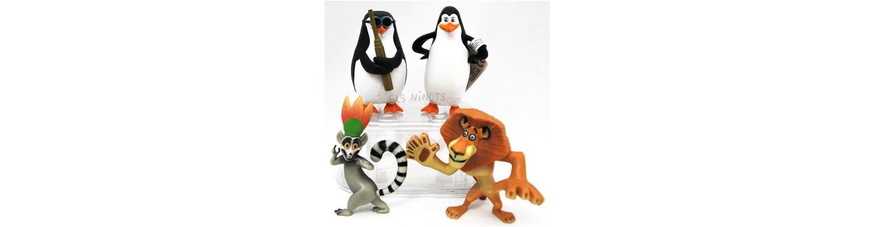 Figures el món de Madagascar