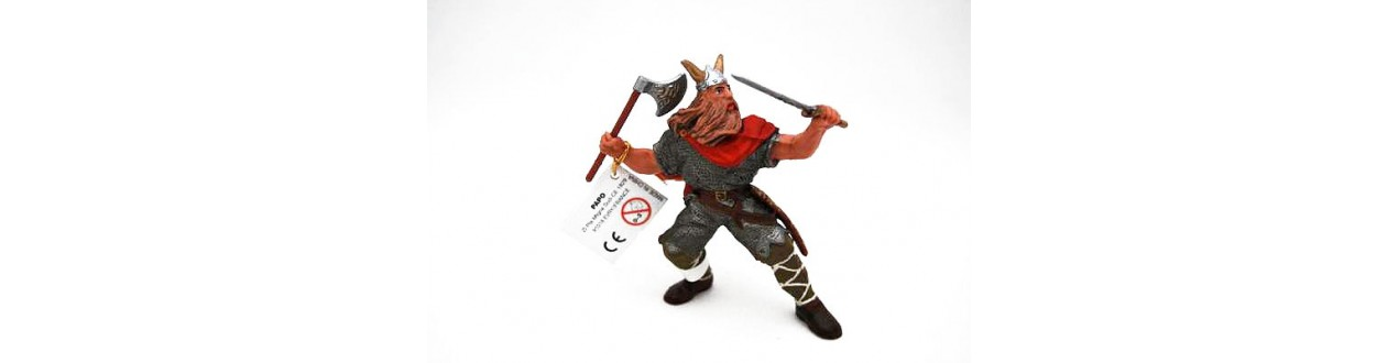 Figurines les Vikings
