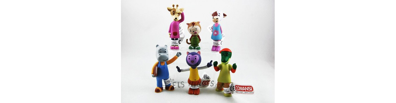 Figurines Misha Le Chat Violet