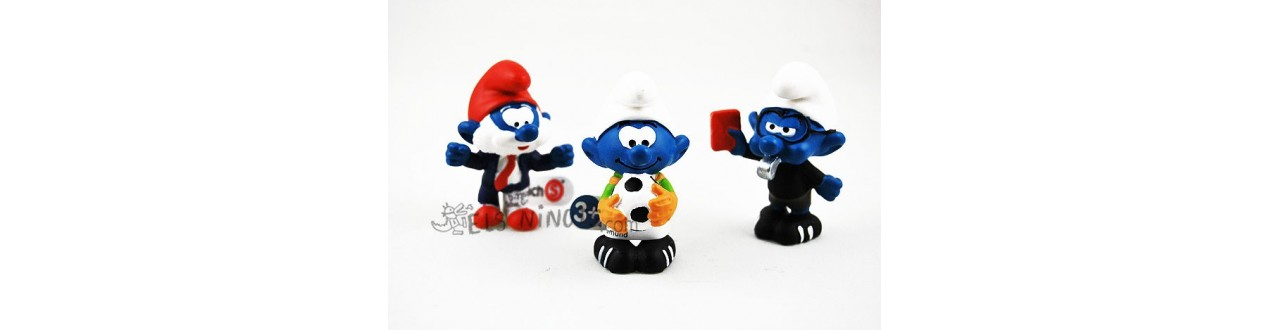 Figurines Schtroumps footballeurs