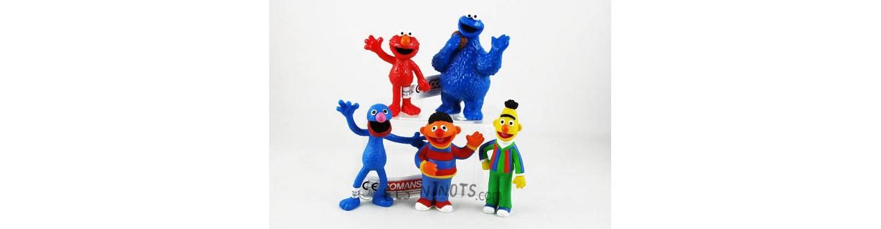 Figurines Sesame Street