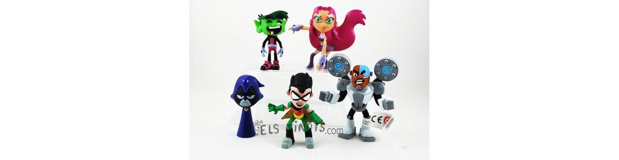 Figures de Teen Titans Go
