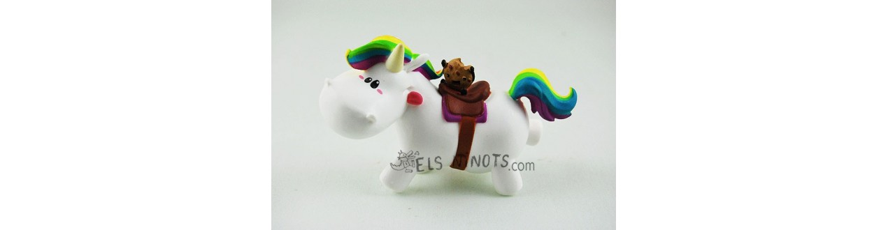 Figurine Chubby Unicorn