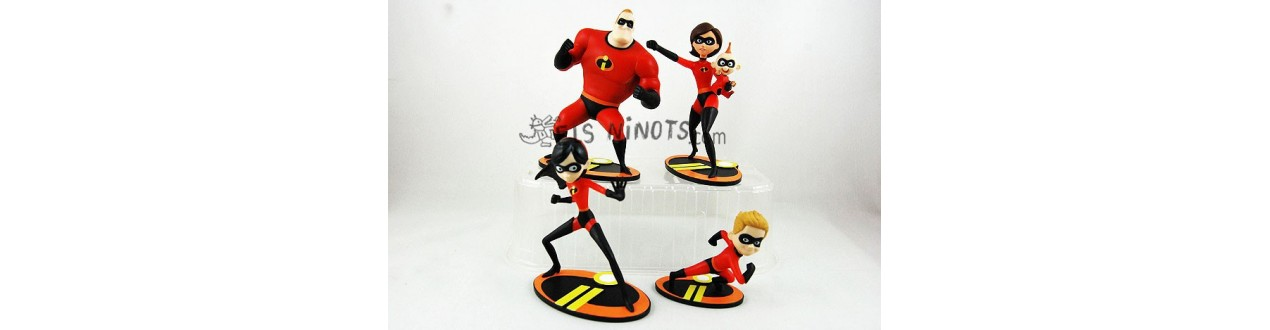 Figurines Les Indestructibles 2