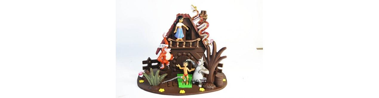 Figurines pour pascua
