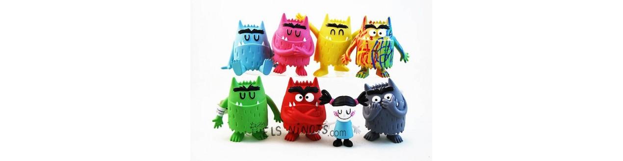 Figuras Monstruo de colores