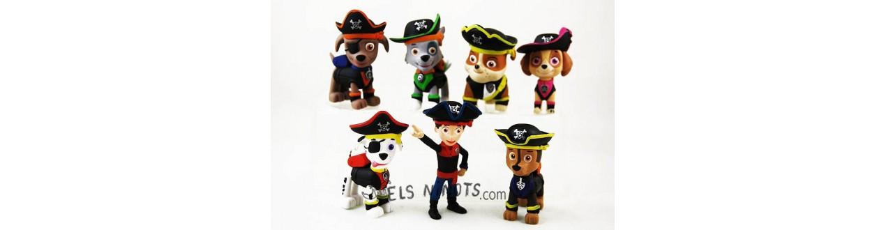 Figuras Patrulla Canina Pirata