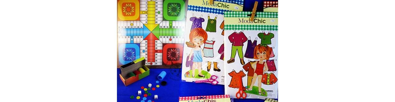 Recortables de muñecas, Juegos Parchís-Oca, Juegos de cartas