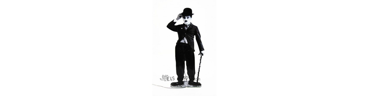 Figures Charlie Chaplin (Charlot)