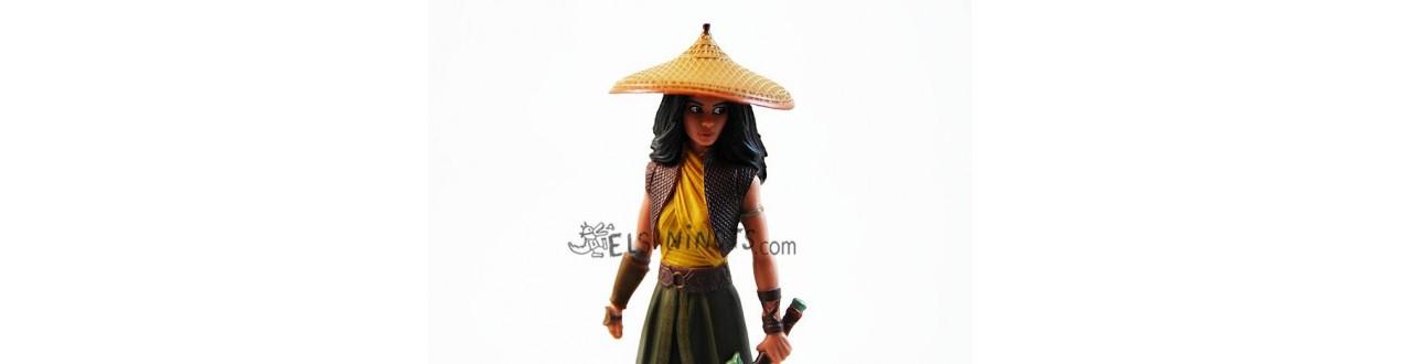 Figurines Raya et le Dernier Dragon