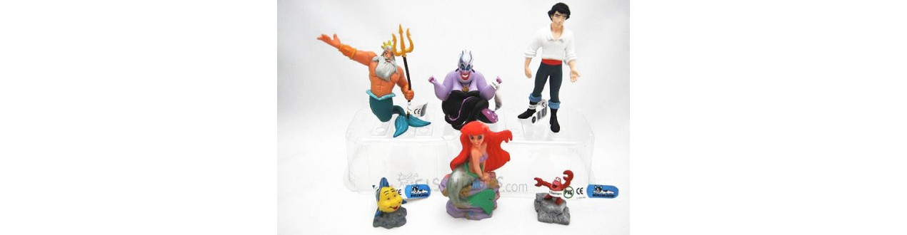 Figurines Petite sirène Disney