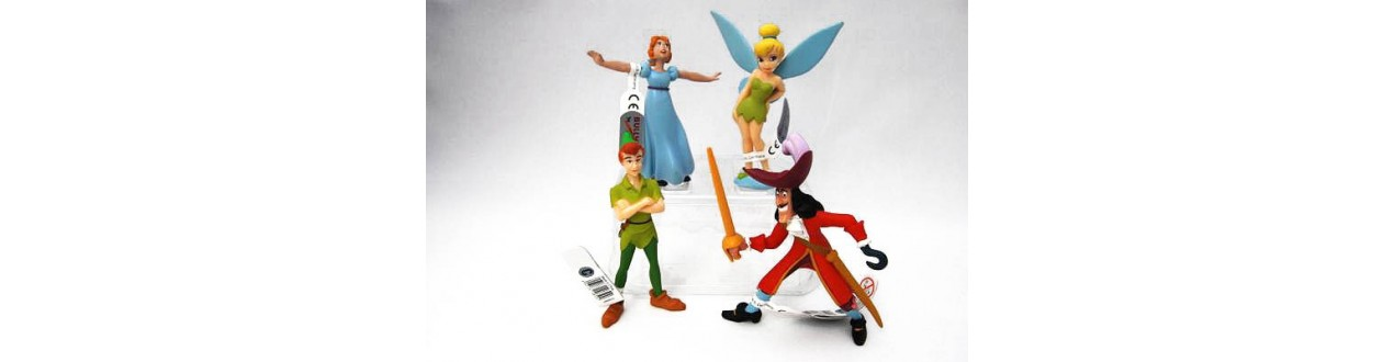 Figuras Peter Pan de Disney