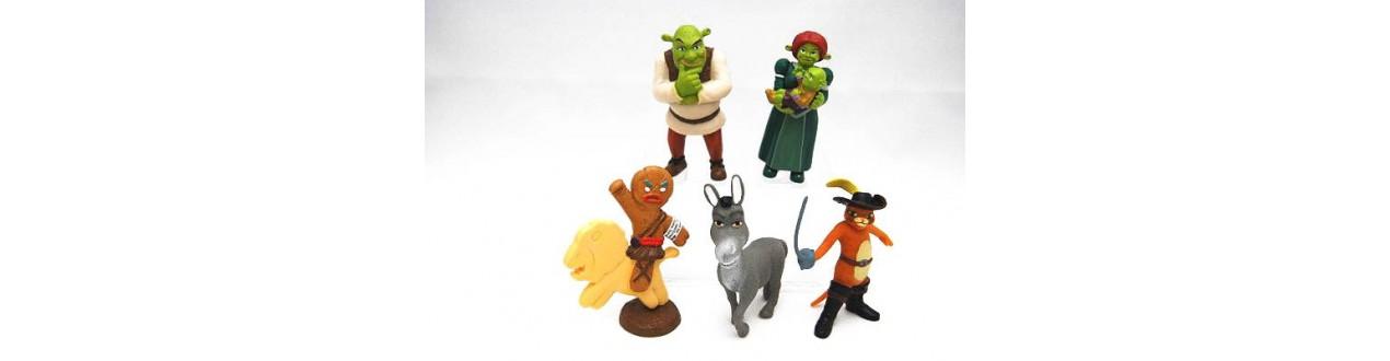 Collection figures Shrek