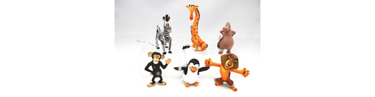 Col·lecció Figures Madagascar