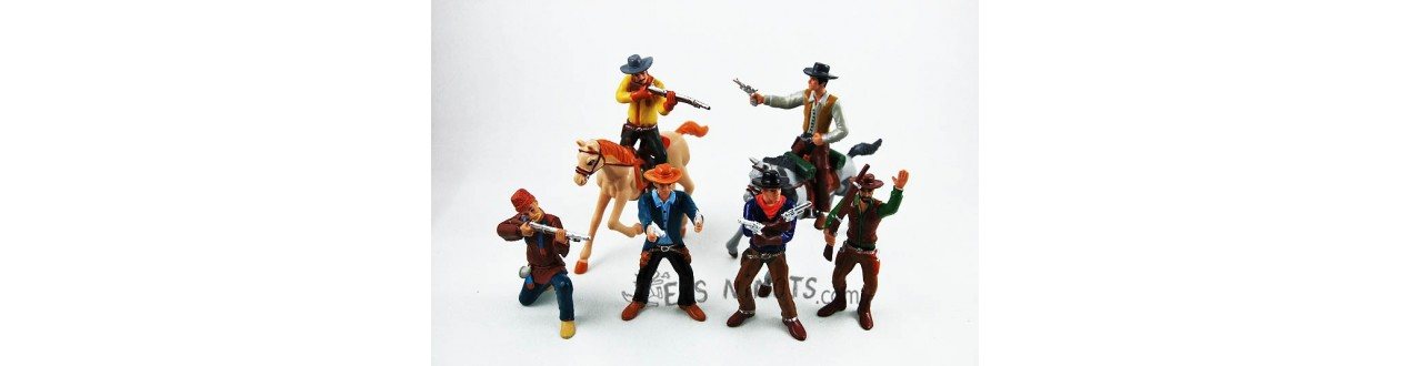 Figurines cow-boys et indiens